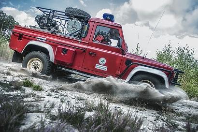 Samochód patrolowo-gaśniczy, Nadleśnictwo Krzystkowice
